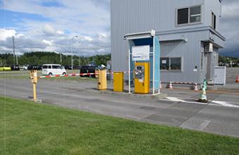 第一駐車場出口1精算機