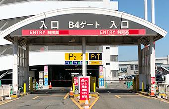 B駐車場入口ゲート